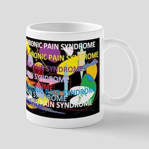 Chronic Pain Syndrome Collage Mug