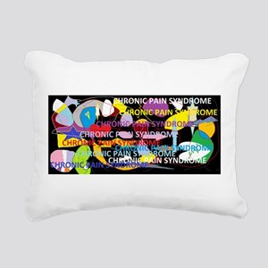 Chronic Pain Syndrome Collage Rectangular Canvas P