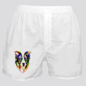 Bright Border Collie Boxer Shorts