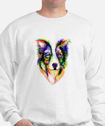Bright Border Collie Sweatshirt