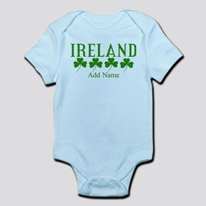 Lucky Irish Shamrocks Body Suit