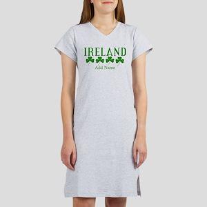 Lucky Irish Shamrocks Women's Nightshirt