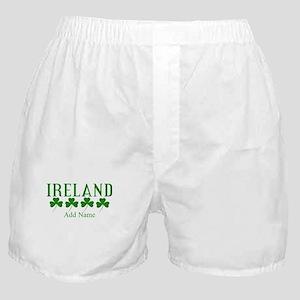 Lucky Irish Shamrocks Boxer Shorts