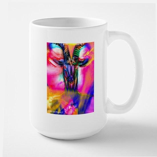 Psychedelic Baphomet Mug