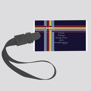 Bible Verse Philippians 4 13 Luggage Tag