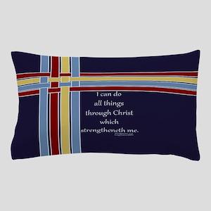 Bible Verse Philippians 4 13 Pillow Case