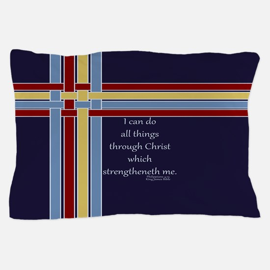 Bible Verse Philippians 4 13 Pillow Case