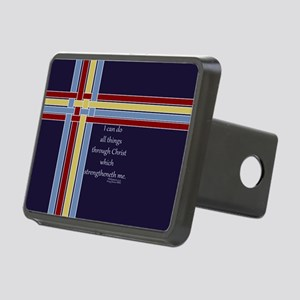 Bible Verse Philippians 4 13 Ribbons Hitch Cover