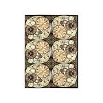 Vintage Clocks 5'x7'Area Rug