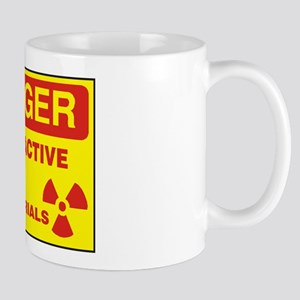 DANGER - RADIOACTIVE ELEMENTS! Small Mug