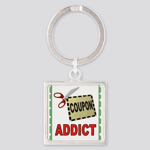 COUPONS Square Keychain