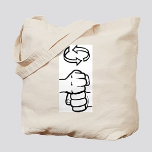 Coffee ASL Mug Tote Bag