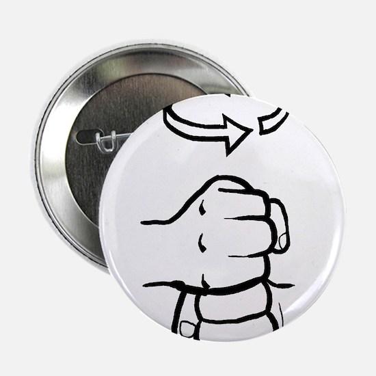 "Coffee ASL Mug 2.25"" Button"