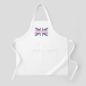 I Survived the British Invasion BBQ Apron