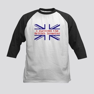 I Survived the British Invasion Kids Baseball Jers