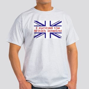 I Survived the British Invasion Ash Grey T-Shirt