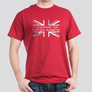 I Survived the British Invasion Dark T-Shirt
