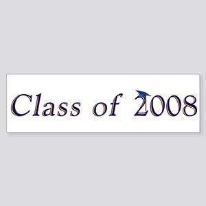 Class of 2008 Bumper Sticker
