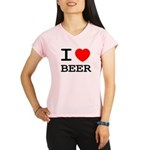 I heart beer Performance Dry T-Shirt