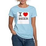 I heart beer Women's Light T-Shirt