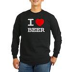 I heart beer Long Sleeve Dark T-Shirt