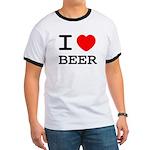 I heart beer Ringer T