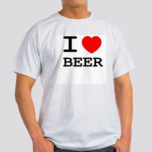 I heart beer Light T-Shirt