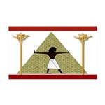 Egyptian Home Decor 35x21 Wall Decal