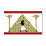 Egyptian Home Decor 20x12 Wall Decal