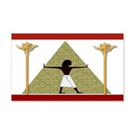 Egyptian Home Decor 20x12 Wall Decal