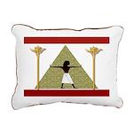 Egyptian Home Decor Rectangular Canvas Pillow