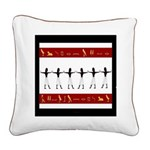Egyptian Home Decor Square Canvas Pillow