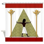 Egyptian Home Decor Shower Curtain