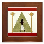 Egyptian Home Decor Framed Tile