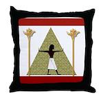 Egyptian Home Decor Throw Pillow