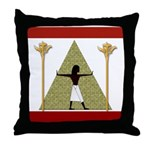 Egyptian Home Decor Throw Pillow