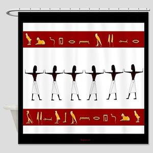 Egyptian Home Decor Shower Curtain