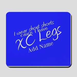XC Legs Short Shorts Mousepad