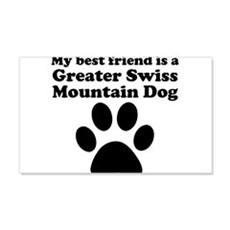 Greater Swiss Mountain Dog Best Friend Wall Decal