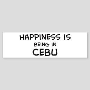 Happiness is Cebu Bumper Sticker
