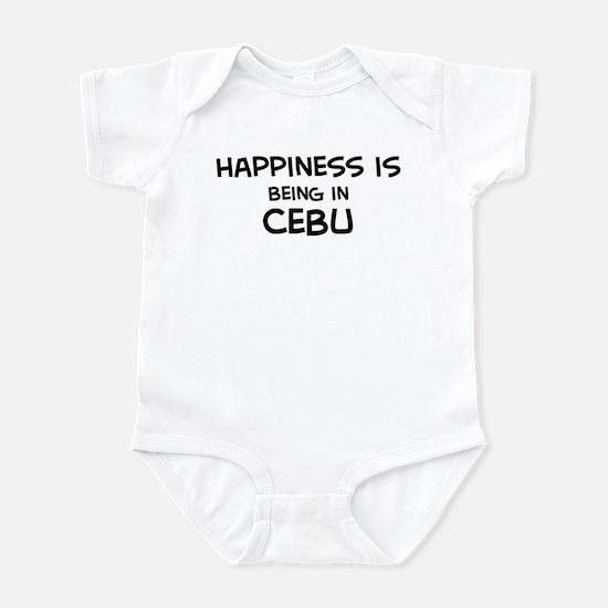 Happiness is Cebu Infant Bodysuit