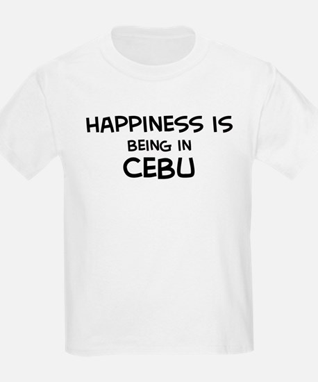 Happiness is Cebu Kids T-Shirt