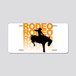 rodeo Aluminum License Plate
