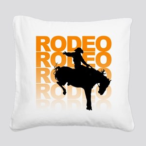 rodeo Square Canvas Pillow