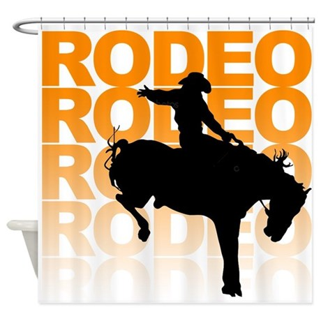 Rodeo Shower Curtain
