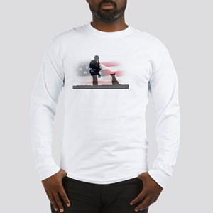 Soldier and shepard Long Sleeve T-Shirt