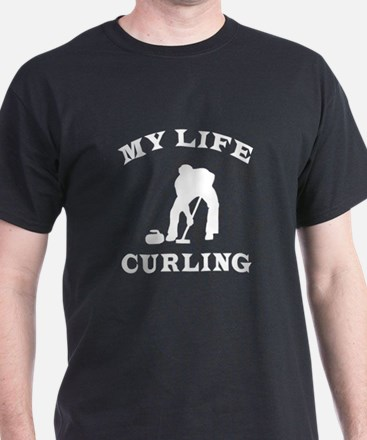 My Life Curling T-Shirt