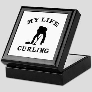 My Life Curling Keepsake Box