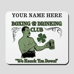 Personalizable Irish Club Mousepad