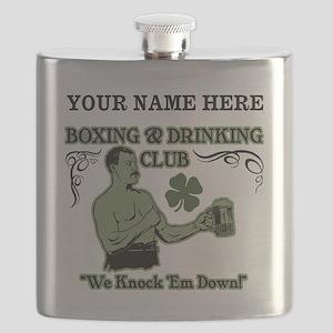 Personalizable Irish Club Flask
